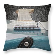 Guitar Art Throw Pillow