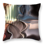 Guitar Sound Throw Pillow