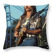Guitarist Dickie Betts Throw Pillow