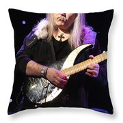 Guitarist Uli Jon Roth Throw Pillow