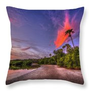 Gulf Breezes Throw Pillow