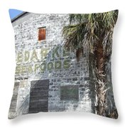 Gulf Coast Warehouse Throw Pillow