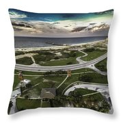 Gulf State Park And Pier Throw Pillow