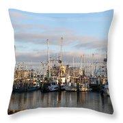 Gulfport Marine Throw Pillow