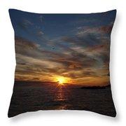 Gull Rise Throw Pillow