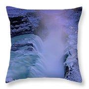 Gullfoss Throw Pillow