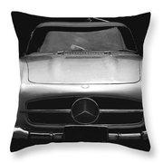 Gullwing Mercedes Throw Pillow