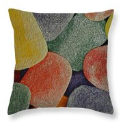 Gum Drops Throw Pillow