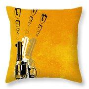 Gun 16 Throw Pillow