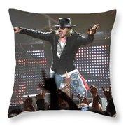 Guns N' Roses Throw Pillow