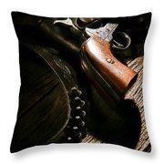 Gunslinger Tool Throw Pillow