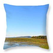 Guntersville Lake Throw Pillow