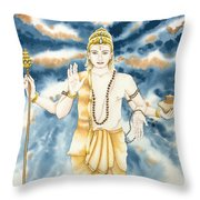 Guru Jupiter Throw Pillow
