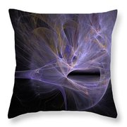 Gushes Of Light Throw Pillow