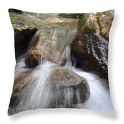 Gushing Water Throw Pillow
