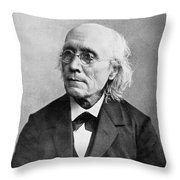 Gustav Theodor Fechner Throw Pillow