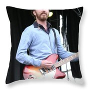 Guster Throw Pillow