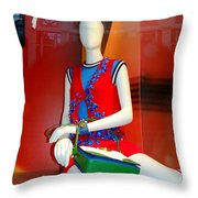 Gym Socks And Jewels Throw Pillow