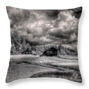 Gypsy Bay Road Lumber Mill 2 Throw Pillow