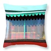 Gypsy Caravan Palm Springs Throw Pillow