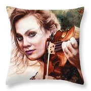 Gypsy In My Soul Throw Pillow