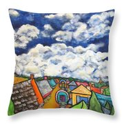 Gypsy Pilgramage Provence Throw Pillow by Chaline Ouellet