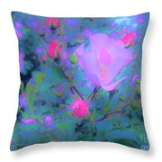 Gypsy Rose - Flora - Garden Throw Pillow