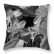 H I Think Its This Way Bw Throw Pillow