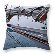 H M Krentz Throw Pillow