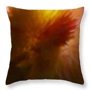 H Na Cocks Cone Gold Throw Pillow