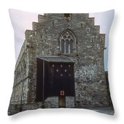 Haakon's Hall Throw Pillow