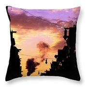 Haarlemmerstraat Throw Pillow