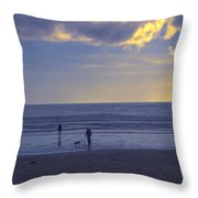 Haceta Head Beach 2 Throw Pillow