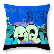 Hack Throw Pillow