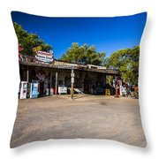 Hackberry General Store Throw Pillow