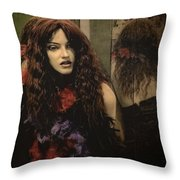 Hackberry Hussy Throw Pillow
