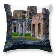 Hadrian's Villa Throw Pillow