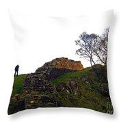 Hadrians Wall Throw Pillow