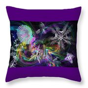 Haeckel Sea Throw Pillow