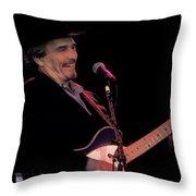 Haggard Throw Pillow