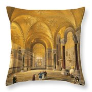 Haghia Sophia, Plate 12 The Meme Throw Pillow