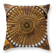 Hagia Sofia Ceiling Throw Pillow