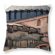 Hagia Sofia Close Up Throw Pillow