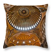 Hagia Sofia Interior 02 Throw Pillow