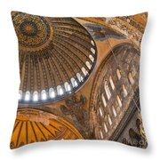 Hagia Sofia Interior 04 Throw Pillow