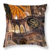 Hagia Sofia Interior 05 Throw Pillow