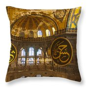 Hagia Sofia Interior 15 Throw Pillow