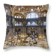 Hagia Sofia Interior 42 Throw Pillow
