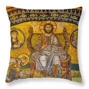 Hagia Sofia Mosaic 04 Throw Pillow