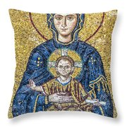 Hagia Sofia Mosaic 05 Throw Pillow